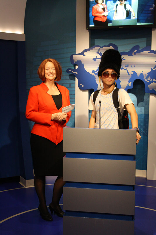 Brandon and Julia Gillard