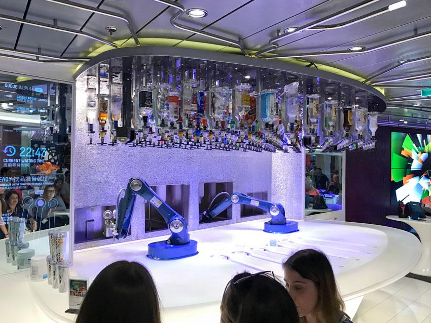 Bionic Bar where robots make drinks