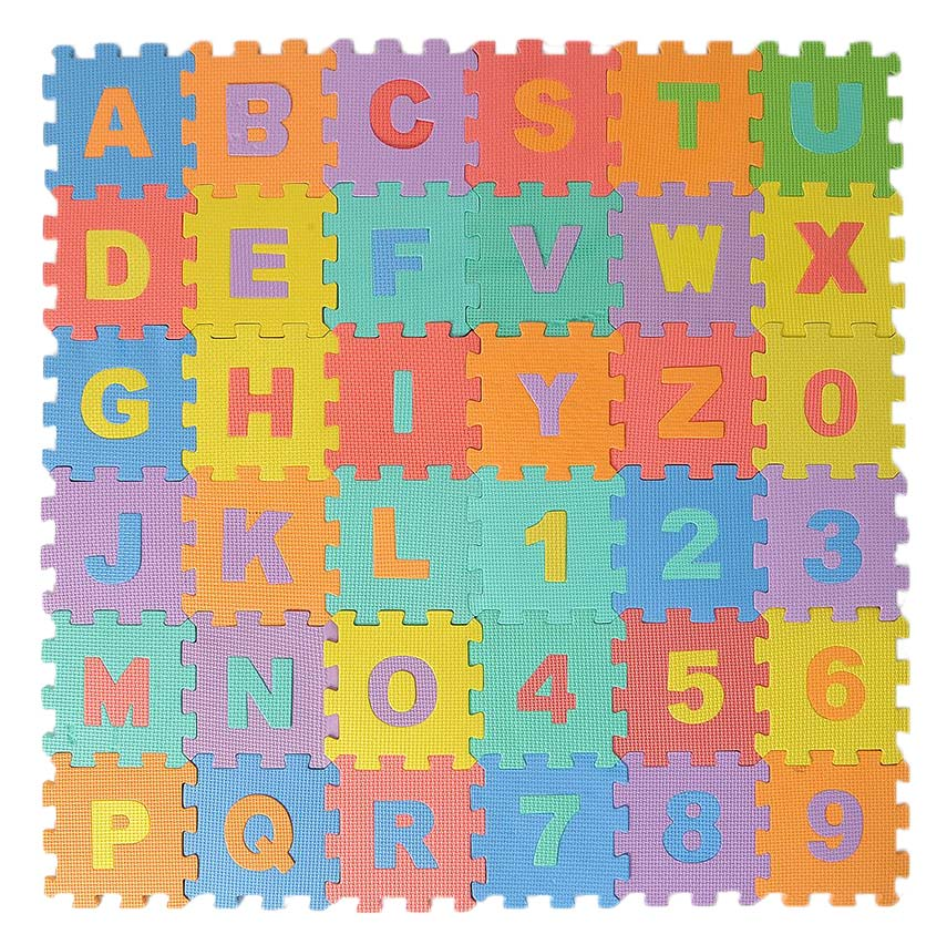 Alphabet foam puzzle mat