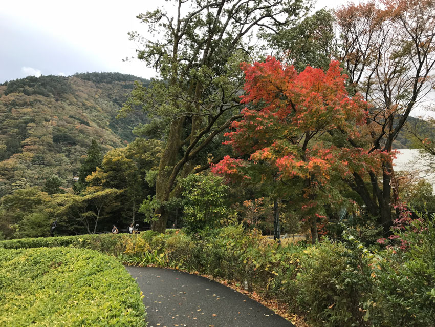 A view of Hakone from the Hakone Open-Air Museum