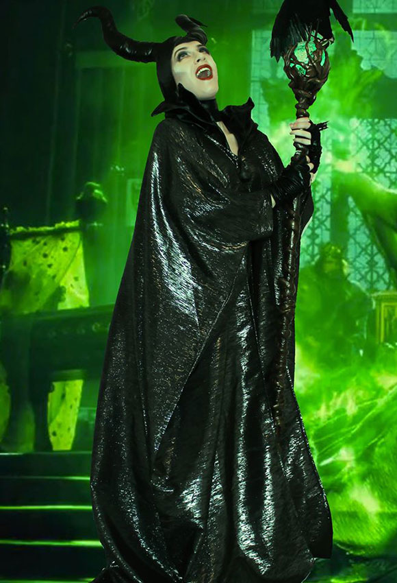 Mandy's amazing Maleficent costume