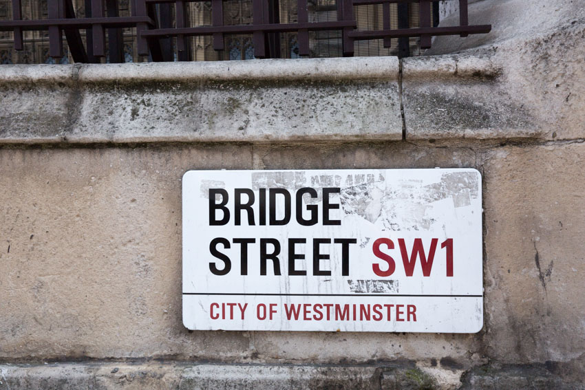 Bridge Street street sign
