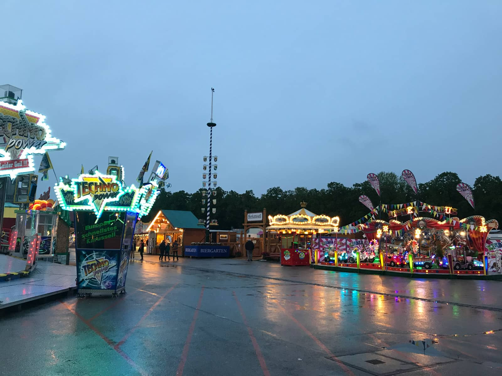 Another view of the fairground area