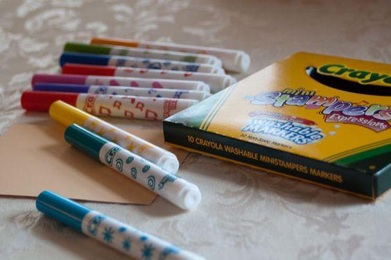 Crayola stamp markers