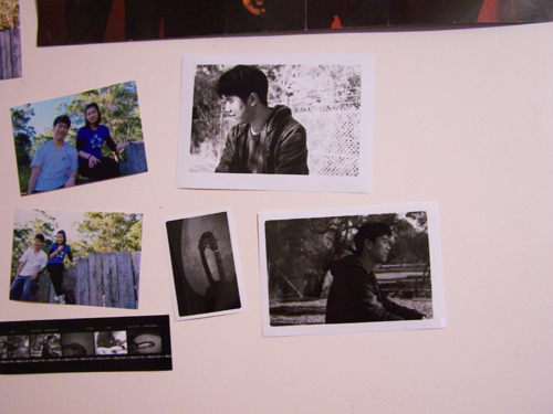 My wall with some photos