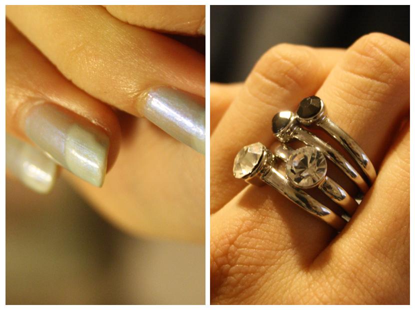 Nails, rings...