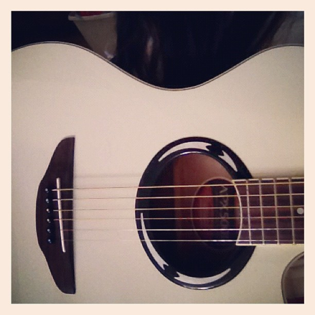 Sparrow, my white guitar