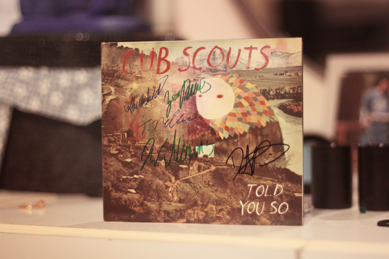 Signed Cub Scouts EP