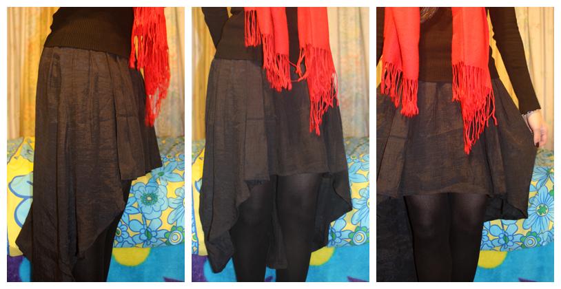 Mullet-skirt