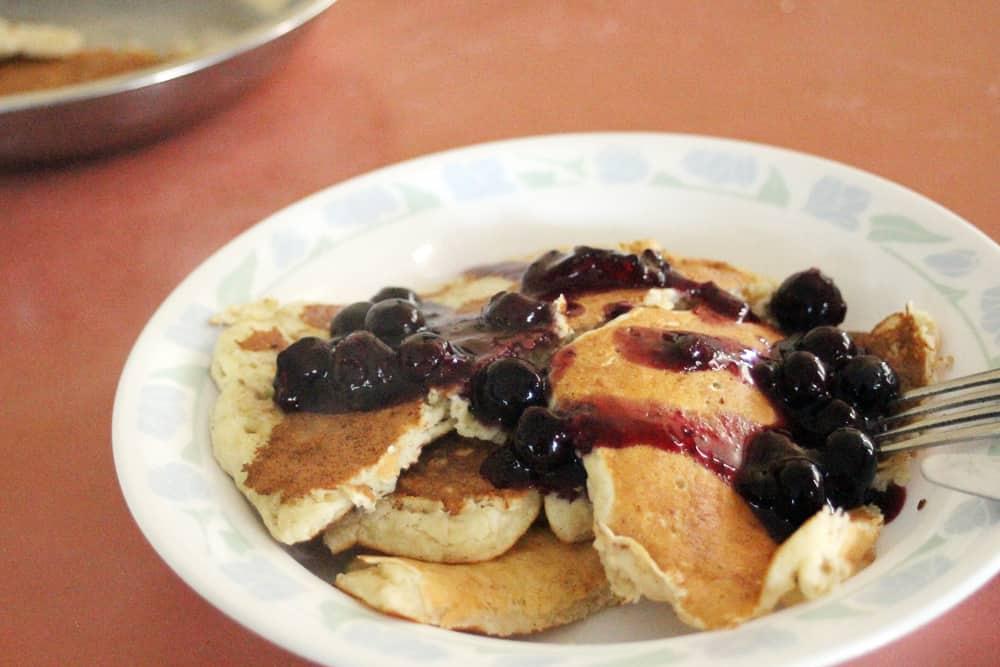 Yum pancakes