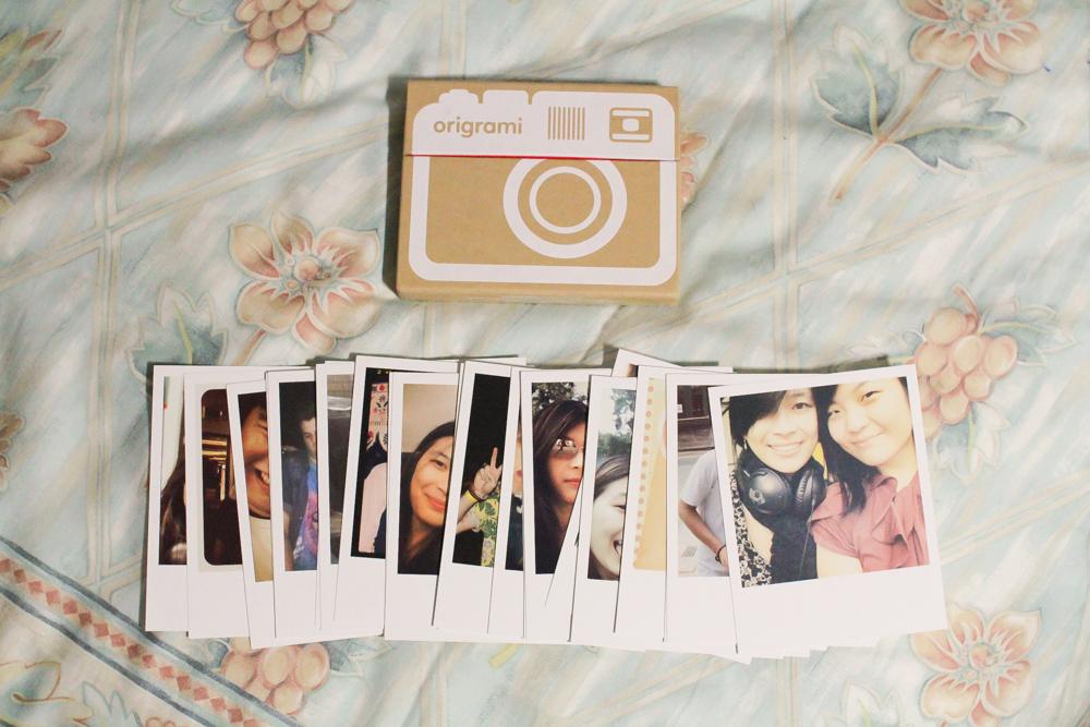Instagram prints from Origrami