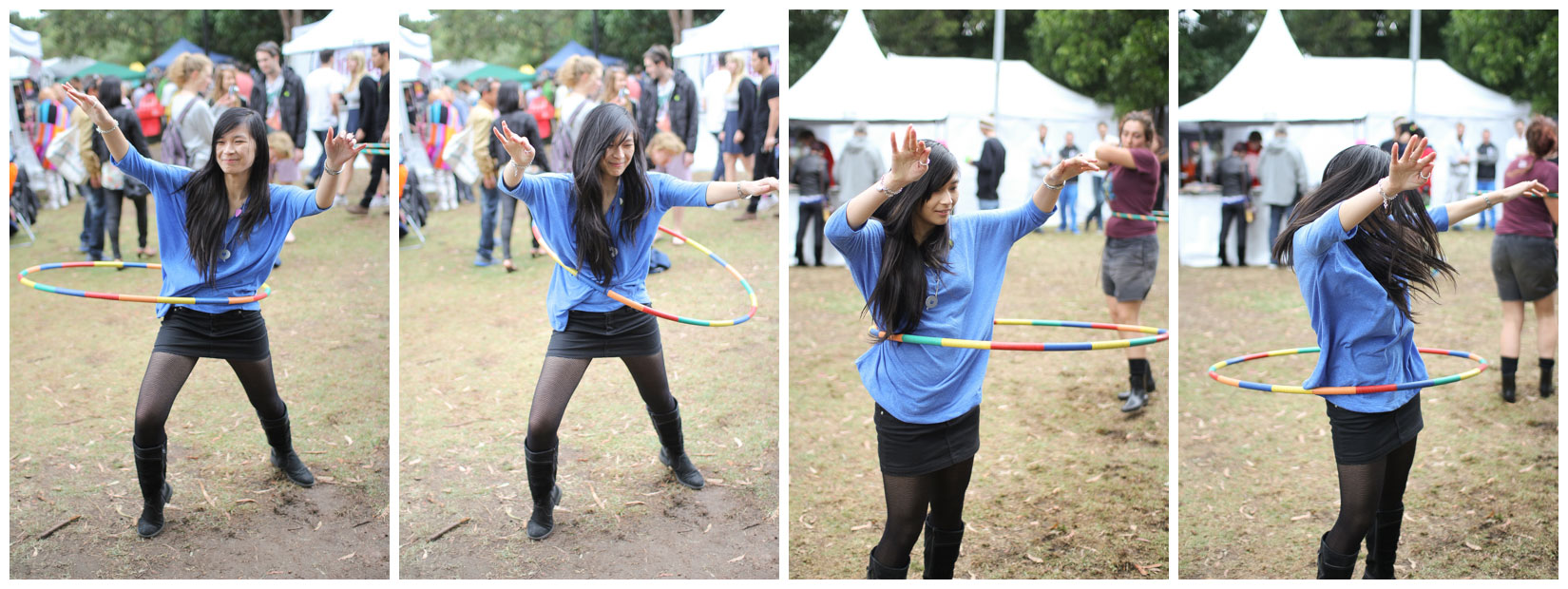 Me hula hooping 🙂