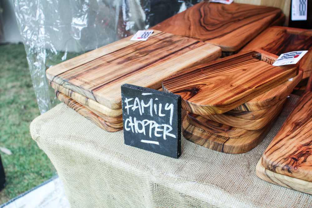 """Family Chopper"" – the chopping board sign"