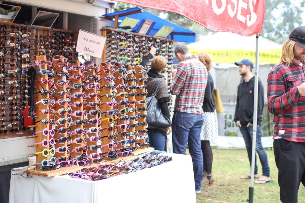 Various sunglasses for sale