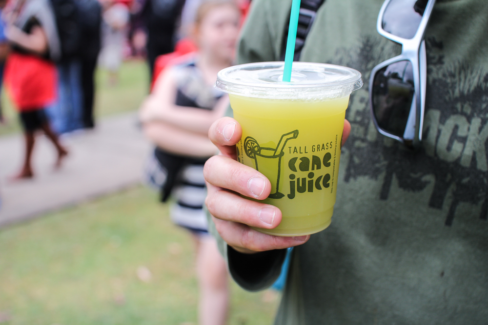 Cane juice with a splash of lime :)