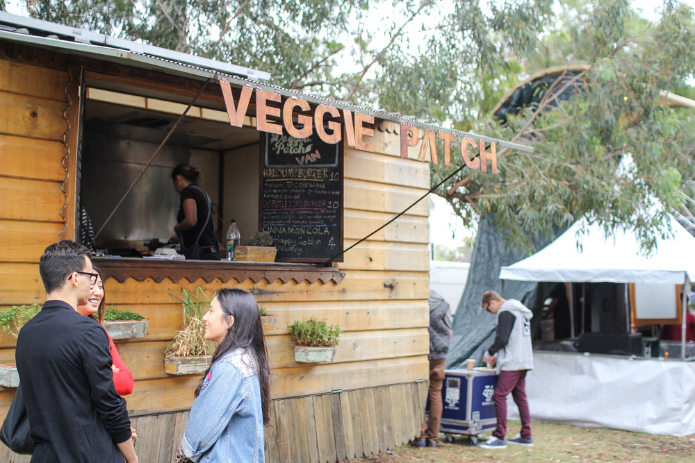 Cute little stall called Veggie Patch.
