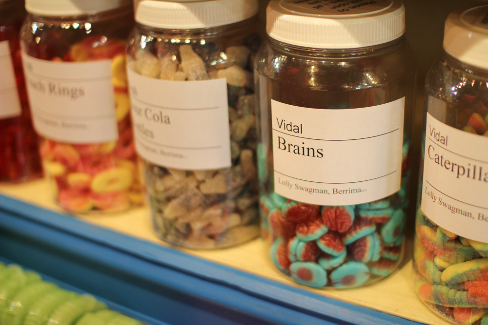 Candy called Brains.