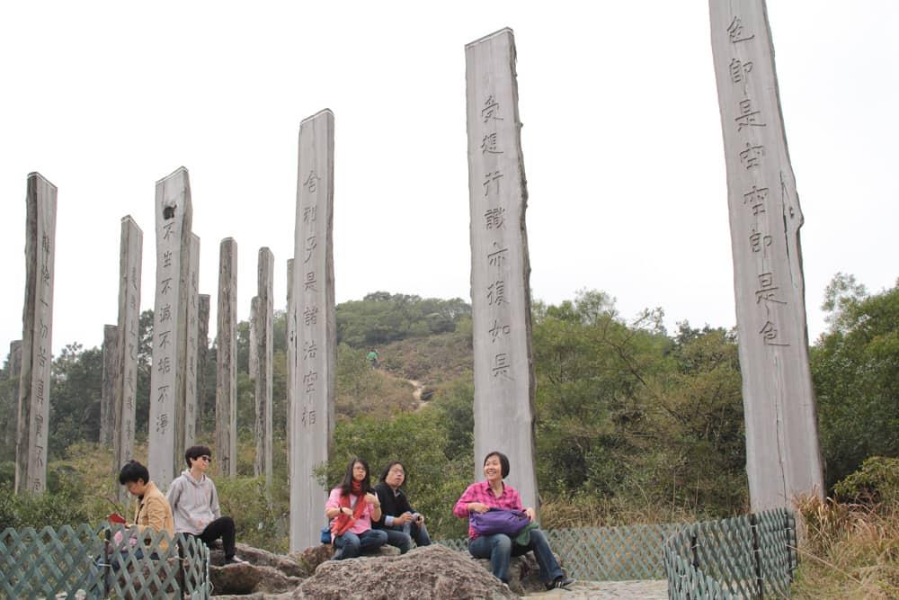 Wooden Stonehenge?