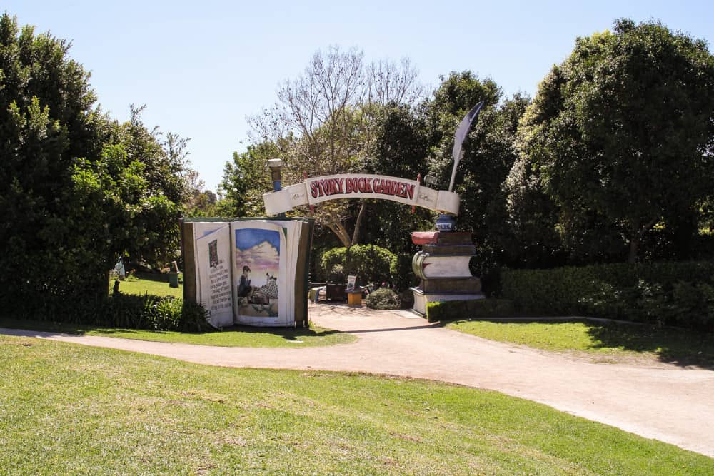 Entrance to the Storybook Garden