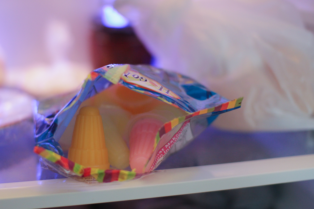 Jelly in the fridge
