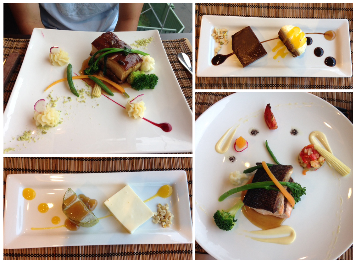 Mains & desserts
