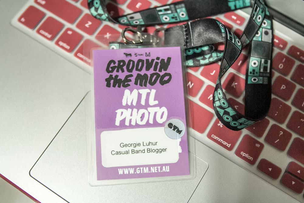 Groovin the Moo Maitland photo pass