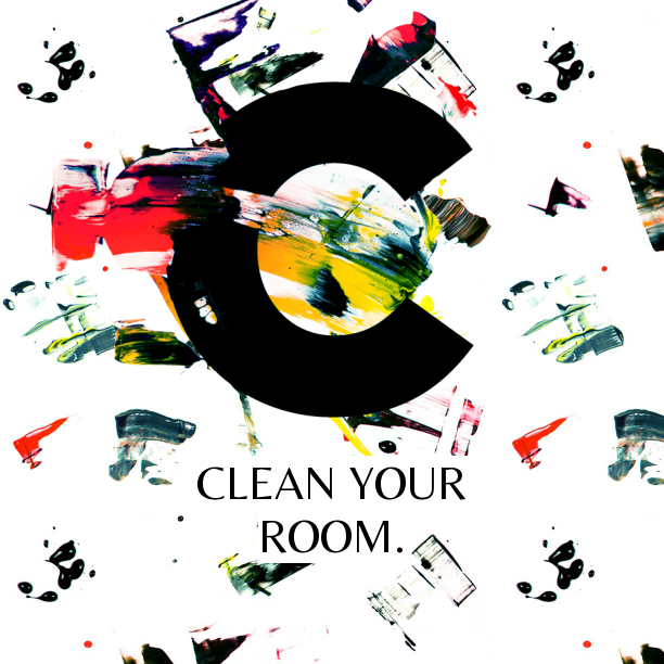 Notegraphy note: Clean your room.