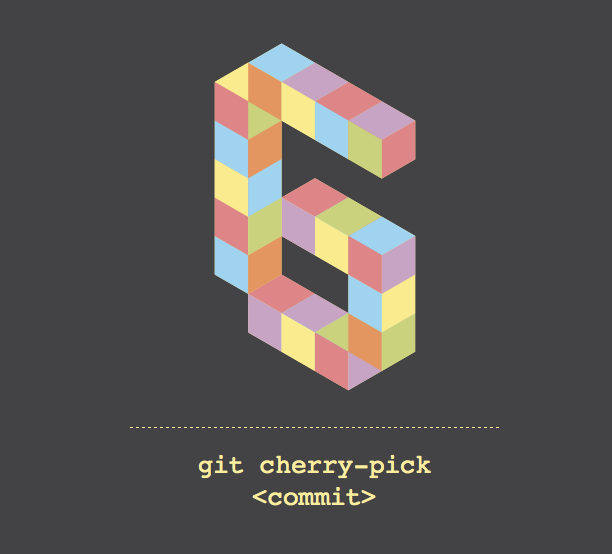 Notegraphy note: git cherry-pick
