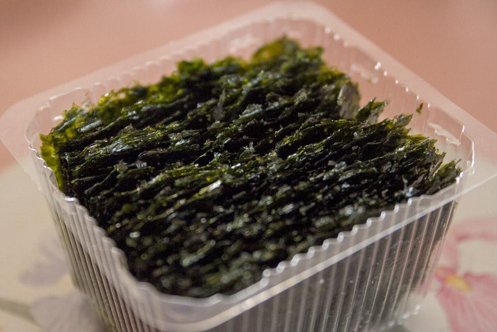 Crispy seaweed!