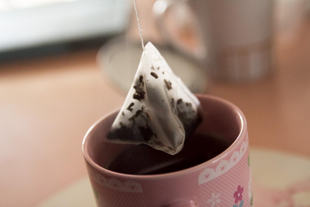 Lipton's Russian Earl Grey tea