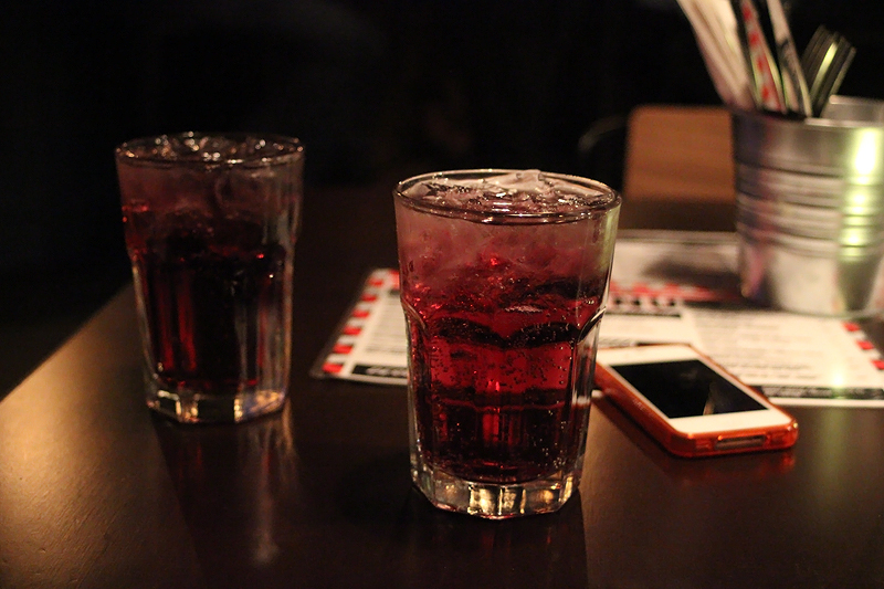 Vodka Red Bull (red edition), photo by me