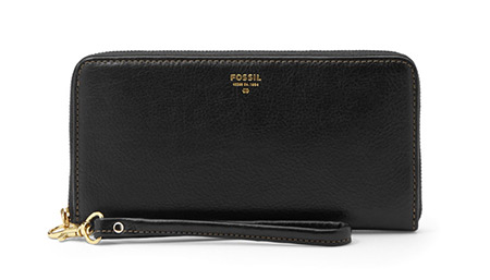Sydney Zip Clutch by Fossil