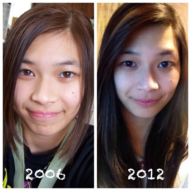 Me from 2006 to 2012.