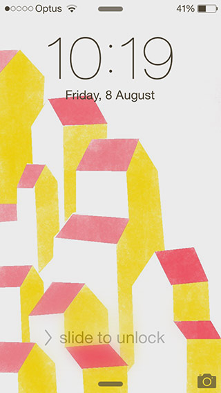 Phone-pink-yellow