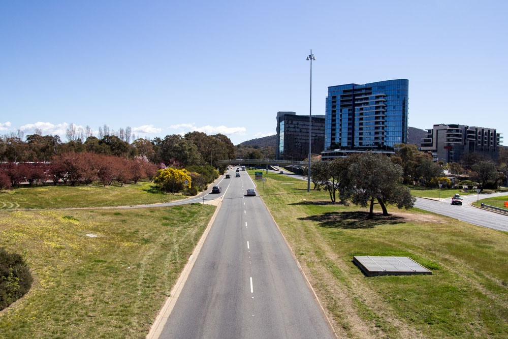 One of the roads in Canberra (I don't recall)