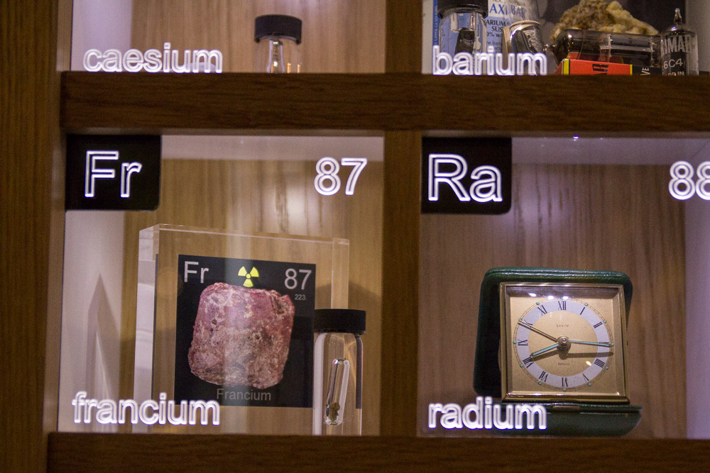 Francium and radium