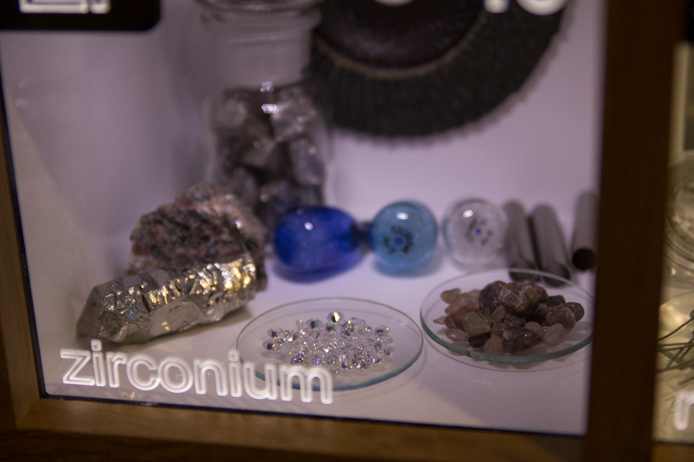 Zirconium – cubic zirconia, right?