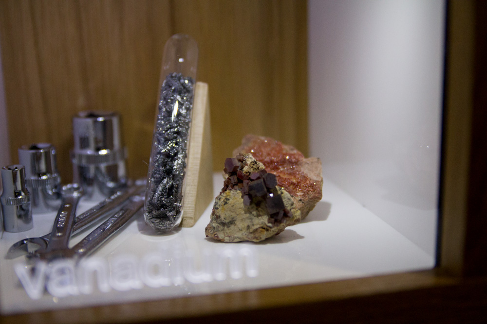 Vanadium – a nice crystal