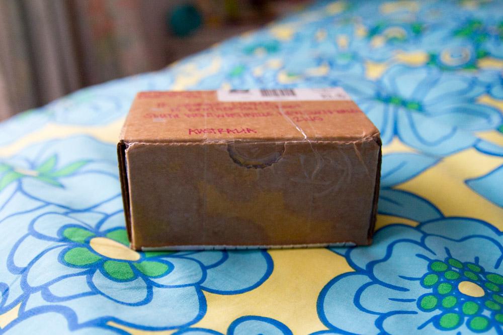 Unwrapped box