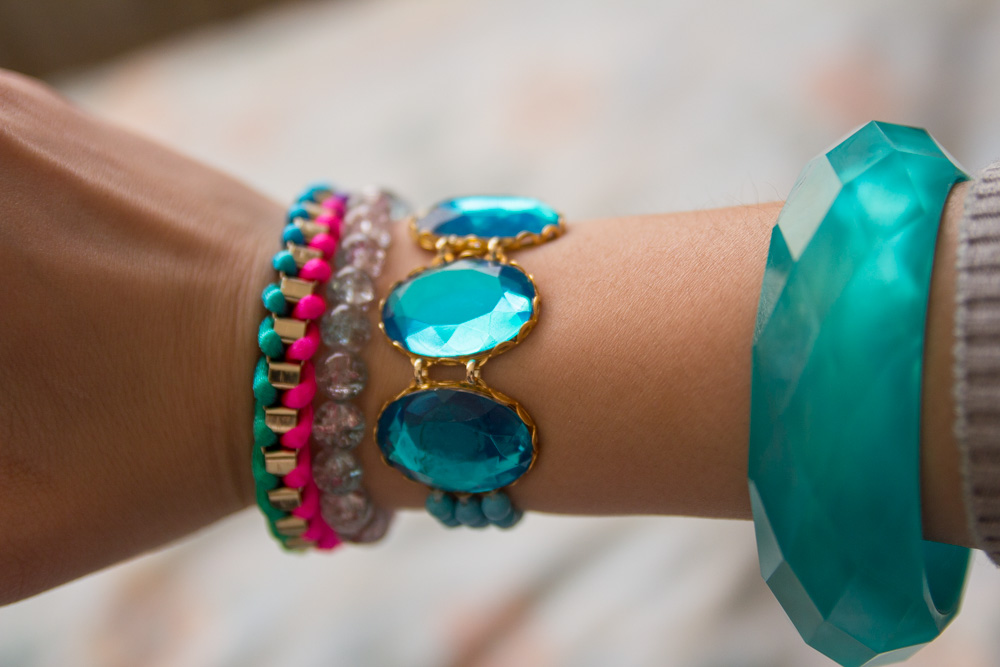 Curating an arm party