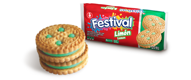 Lime flavoured Festival Cookies