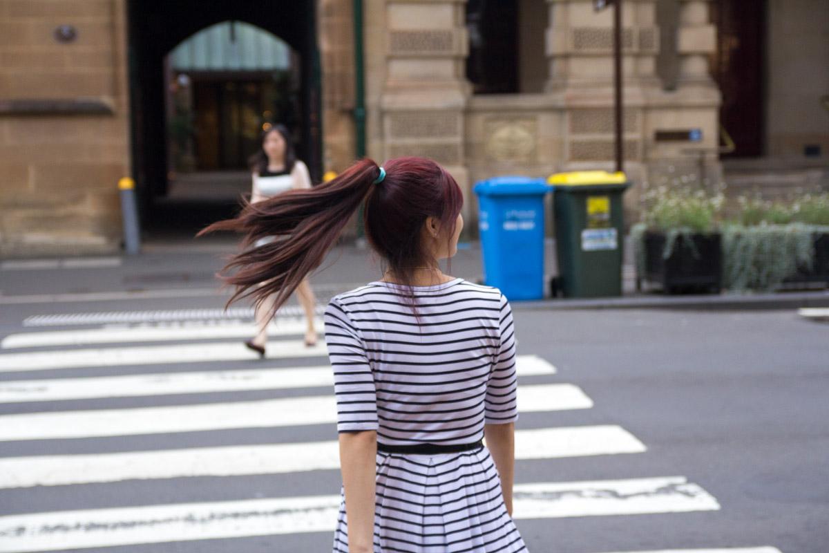 Crossing George Street