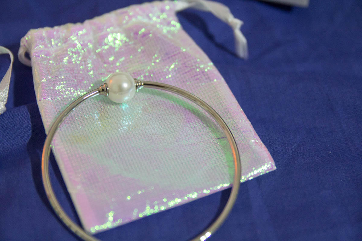 Pearl bangle in my subscription box