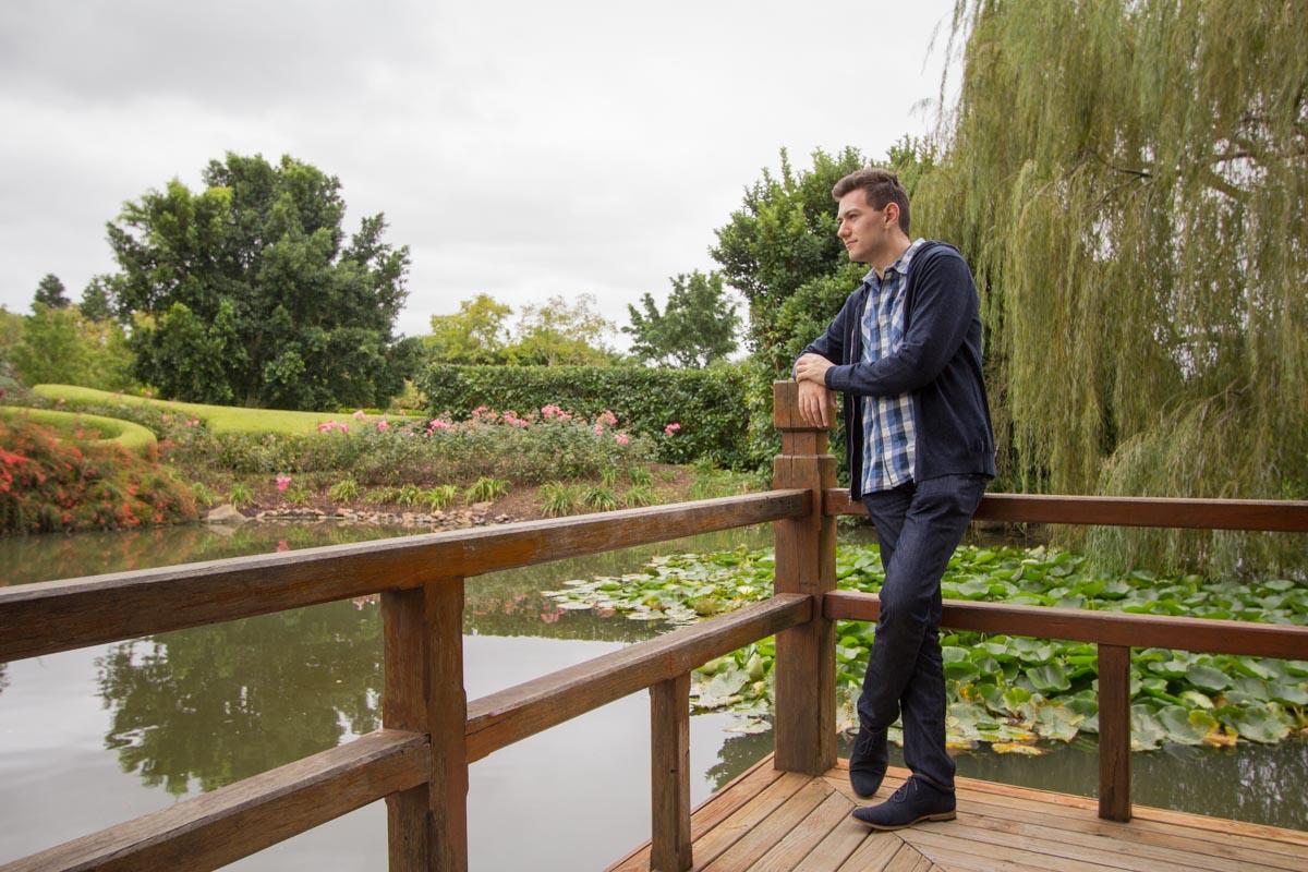 Oriental Garden overlooking water