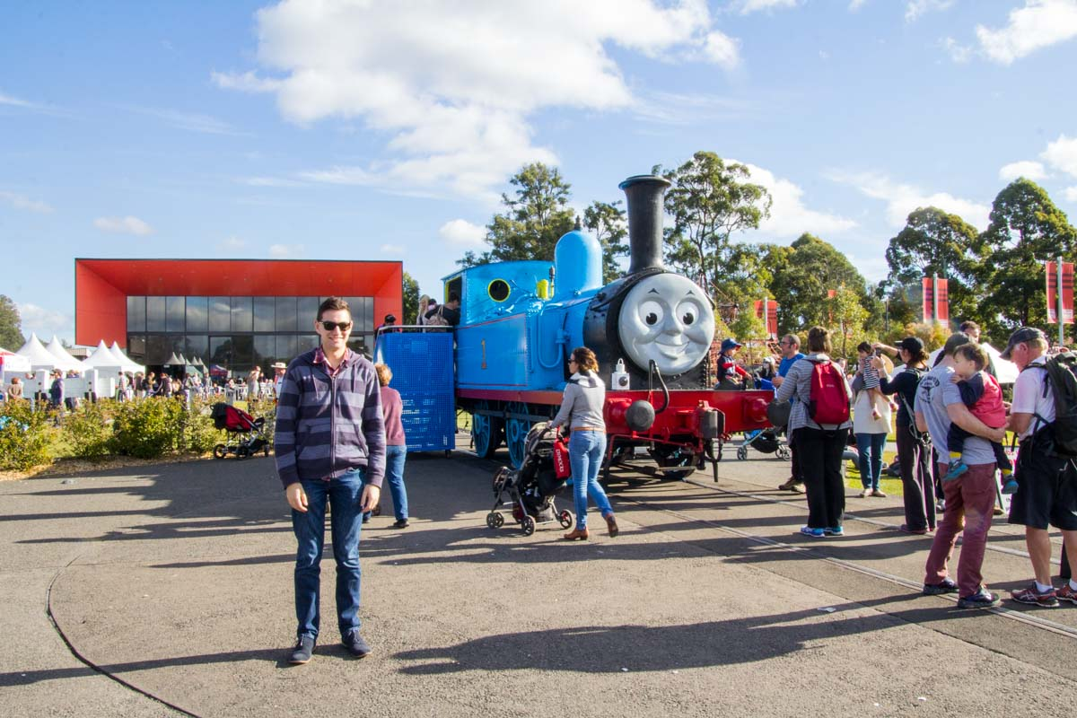 Nick with Thomas