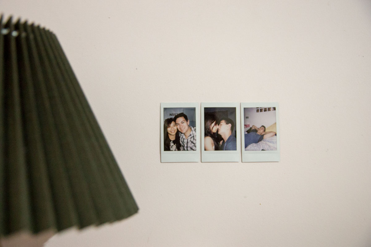 Some polaroids of me and Nick