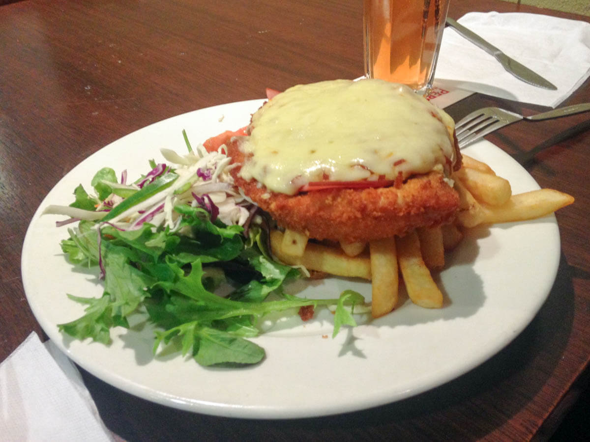 Nick's chicken parmigiana