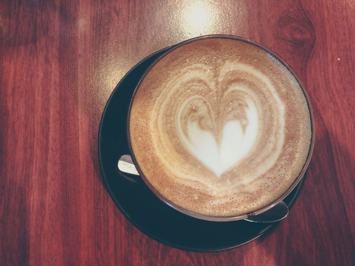 Soy latte