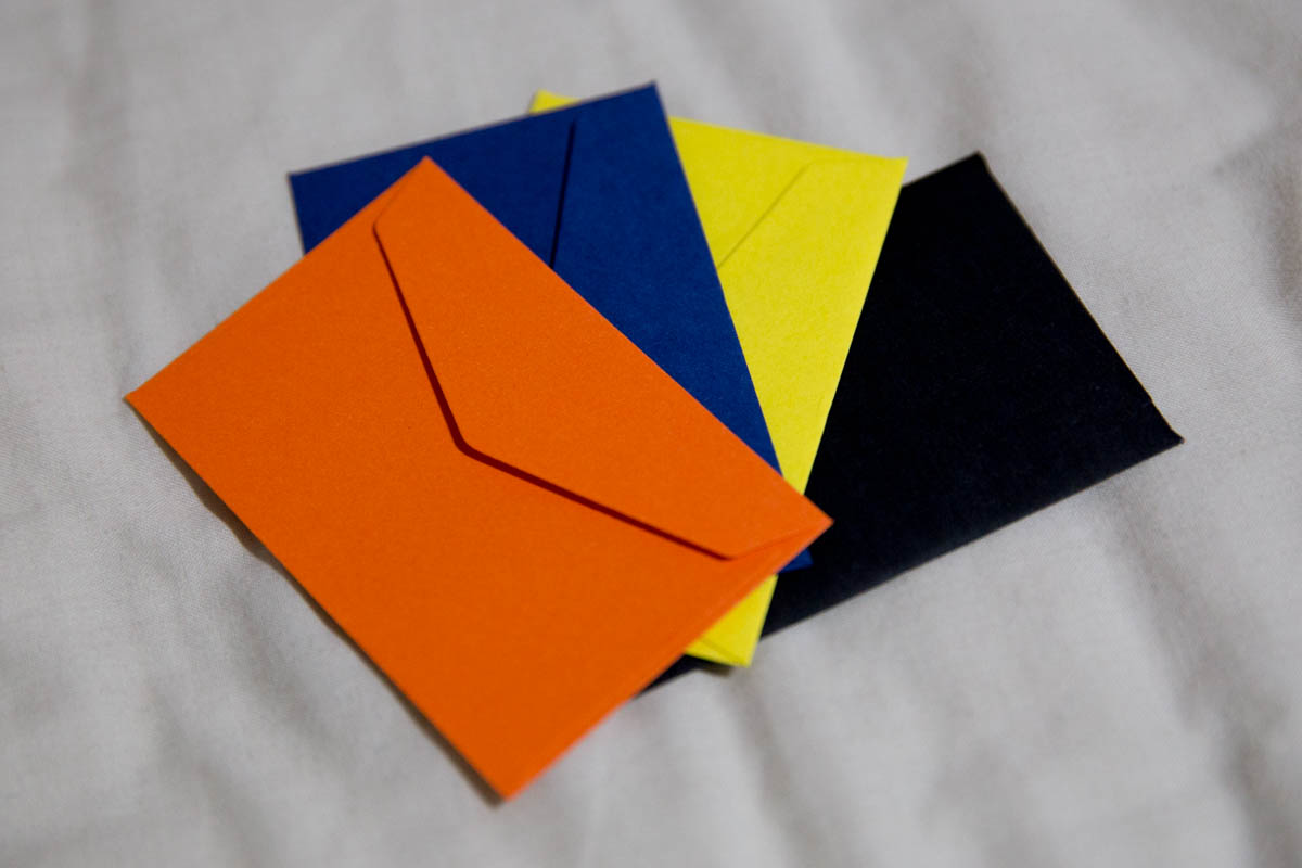 The smallest envelopes in the pack