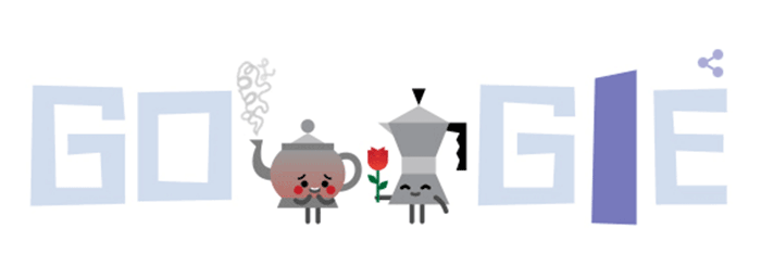 One variant of the Google doodle.